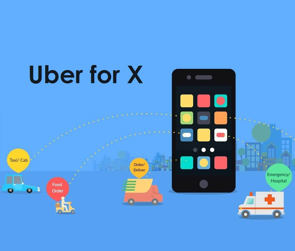 3 startups vying to be e the next uber for x   tecocraft