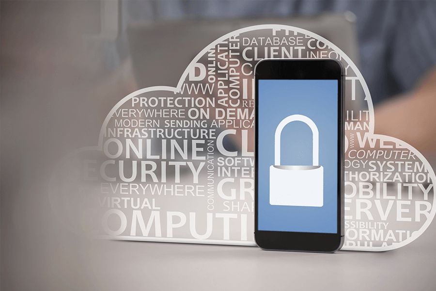 mobile app security banner