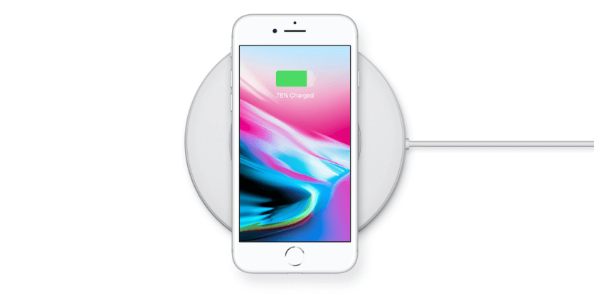 wireless charging in new iphone 8