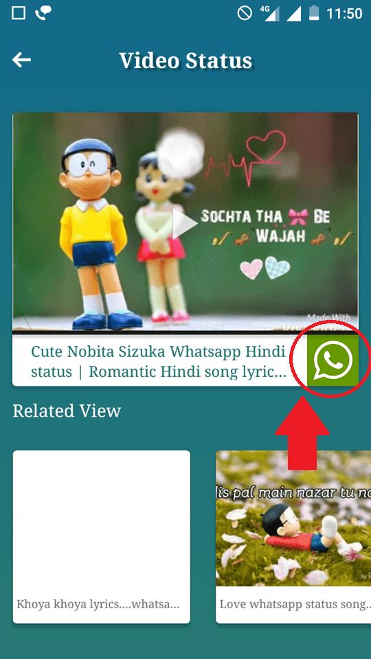 click on whatsapp icon