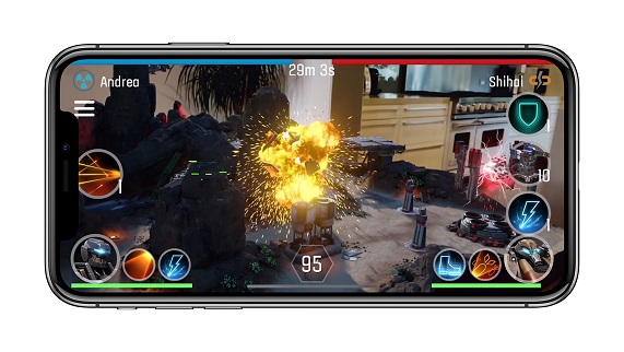 gaming in iPhone x
