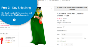 free-shipping banner