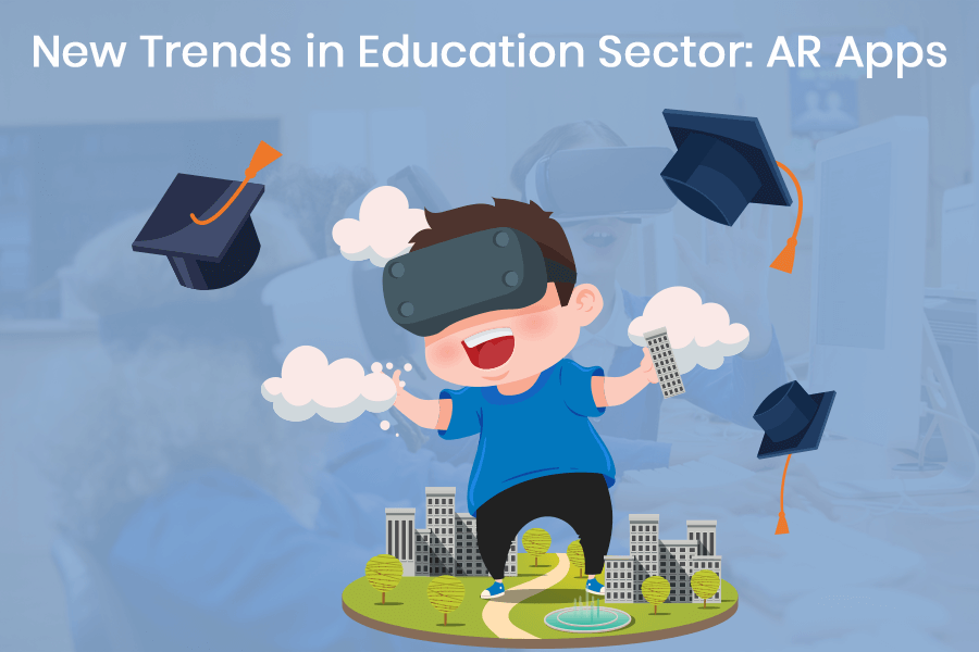 New-Trends-in-Education-Sector-AR-Apps banner
