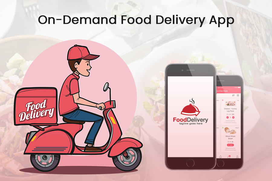 on-demand food delivery app