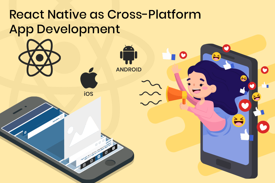 react native for developing cross-platform apps