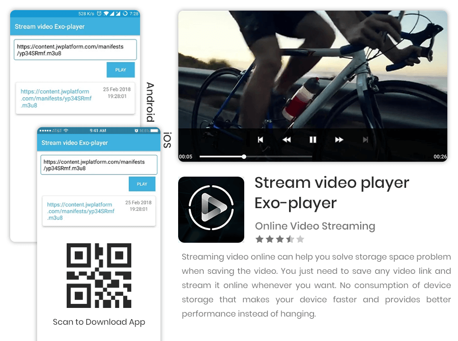 stream video player