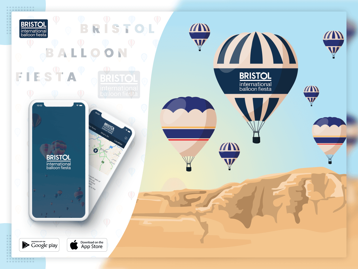 Bristol app banner