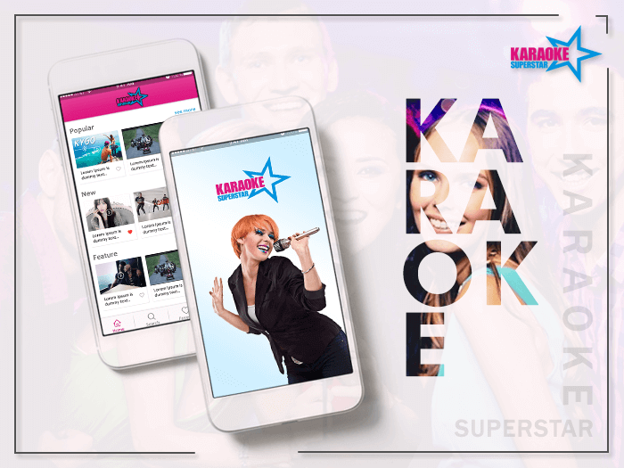 Karaoke superstar banner