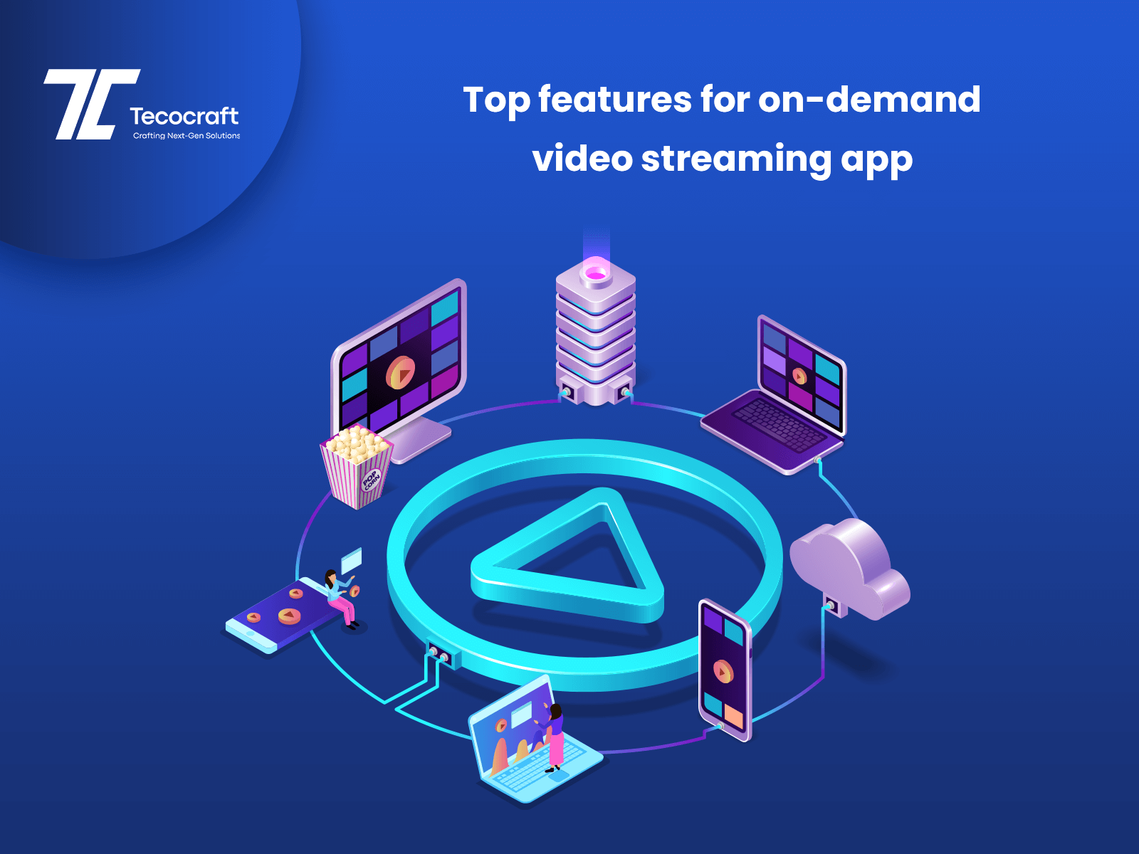 Features For On-Demand Video Streaming App
